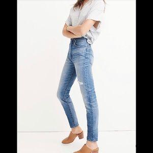 NWT $98 Madewell Rigid High-Rise Skinny Jeans 31